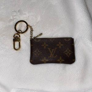 Louis Vuitton key pouch coin purse
